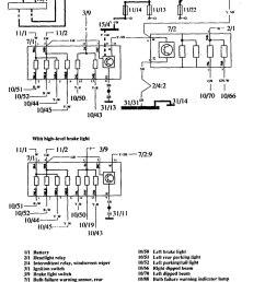 volvo 760 1990 wiring diagrams warning lamps [ 906 x 1242 Pixel ]