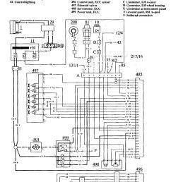 volvo 780 1990 1991 wiring diagrams hvac controls [ 952 x 1348 Pixel ]