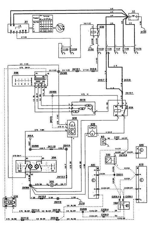 small resolution of 1993 volvo 850 engine diagram