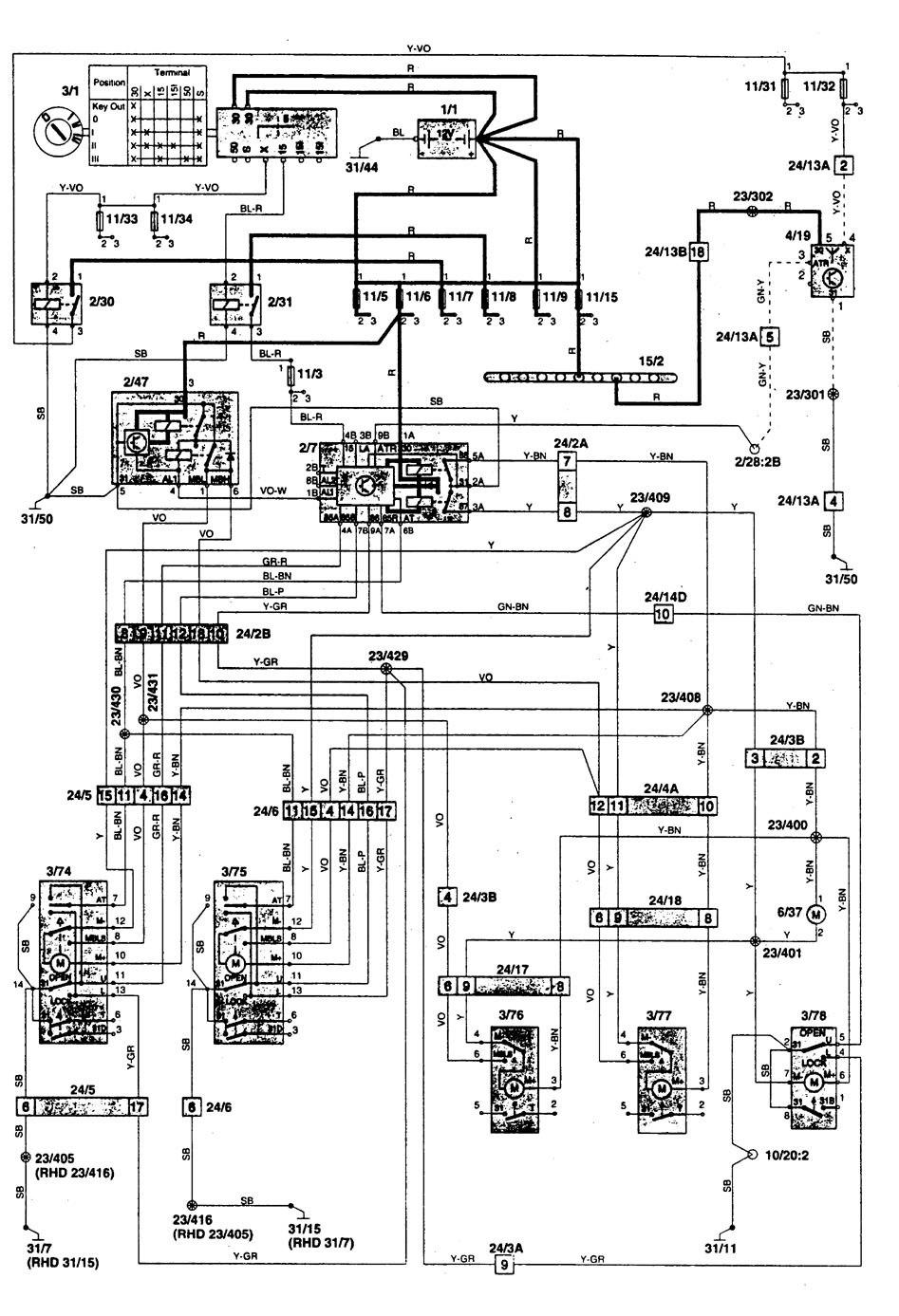 Ford Taurus Wiring Diagram Volvo 850 Starter Wiring 1993 Ford Taurus