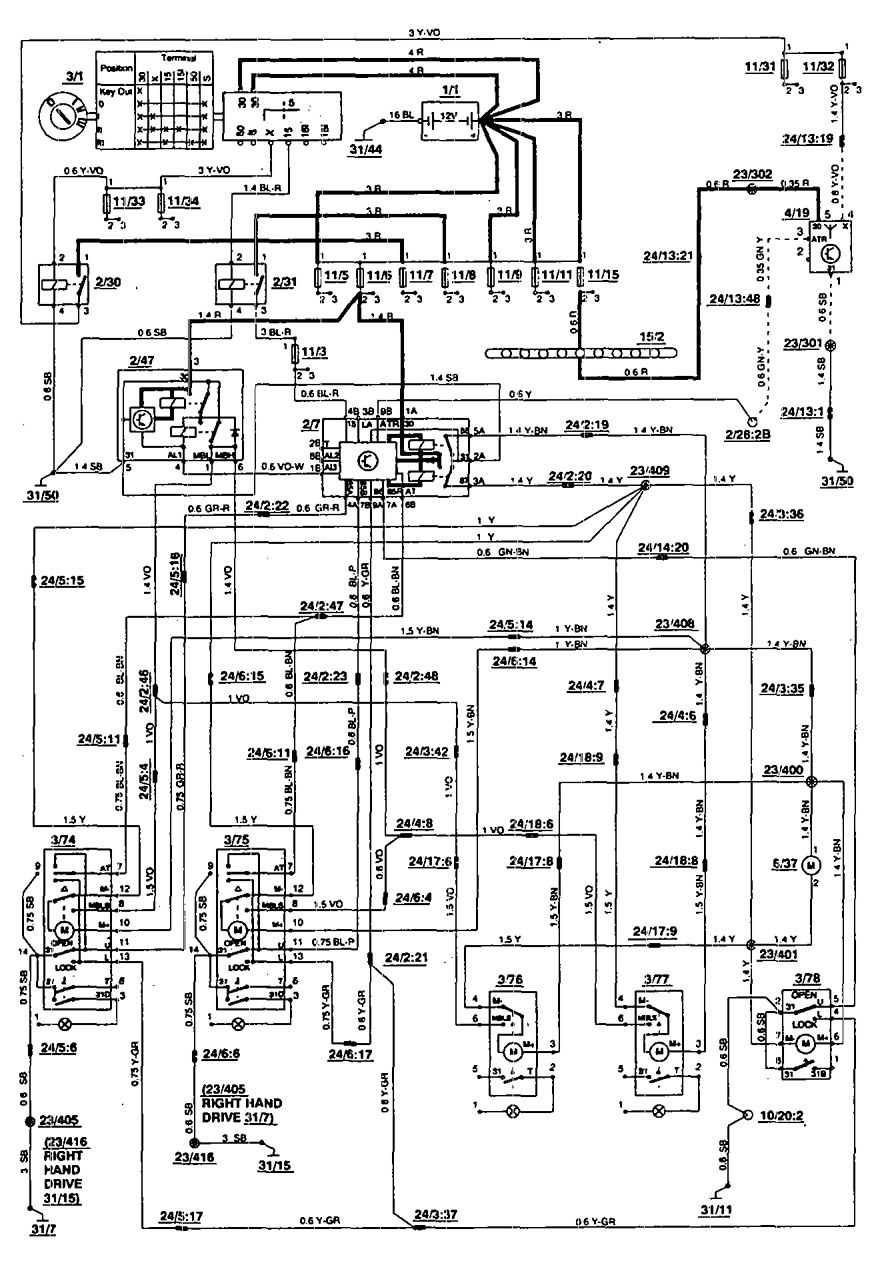 hight resolution of nice volvo 850 radio wiring diagram illustration best images for volvo semi truck volvo