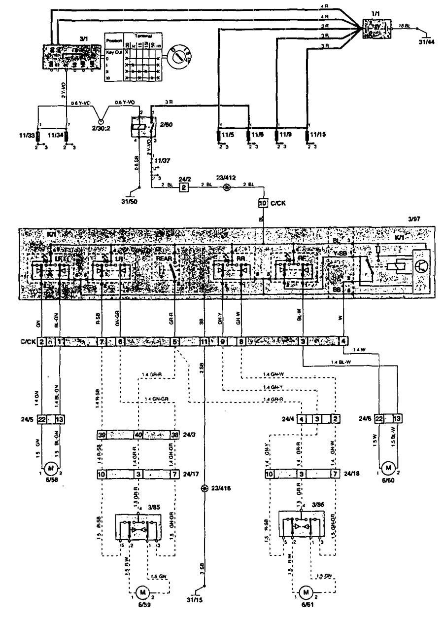 medium resolution of volvo 240 power window wiring diagram wiring library audio wire diagram 1985 volvo