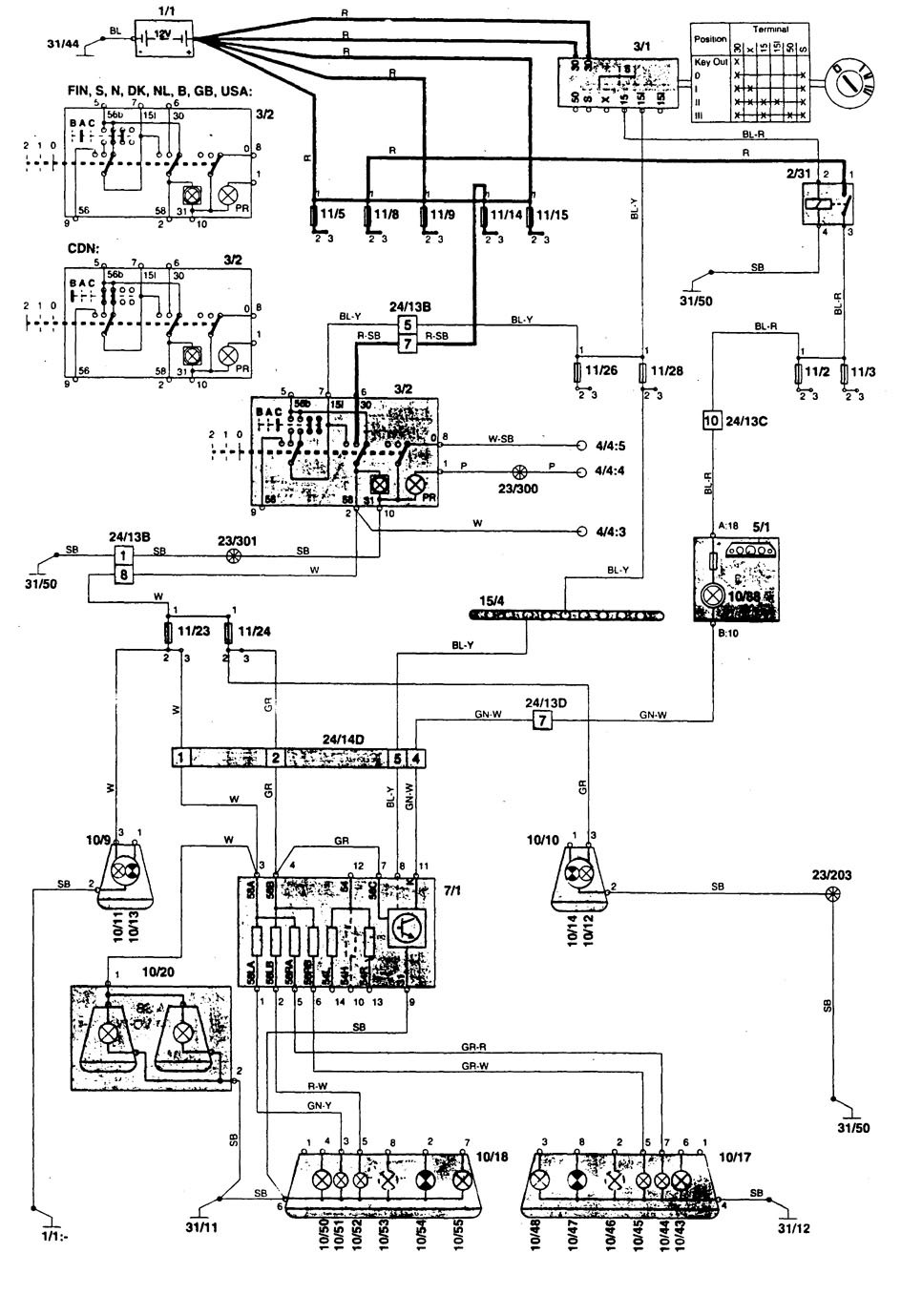 hight resolution of volvo 850 tail light wiring library wiring diagramvolvo tail light wiring diagram wiring library saab 9