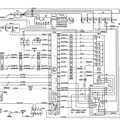 volvo 850 1995 wiring diagrams traction controls [ 1353 x 985 Pixel ]