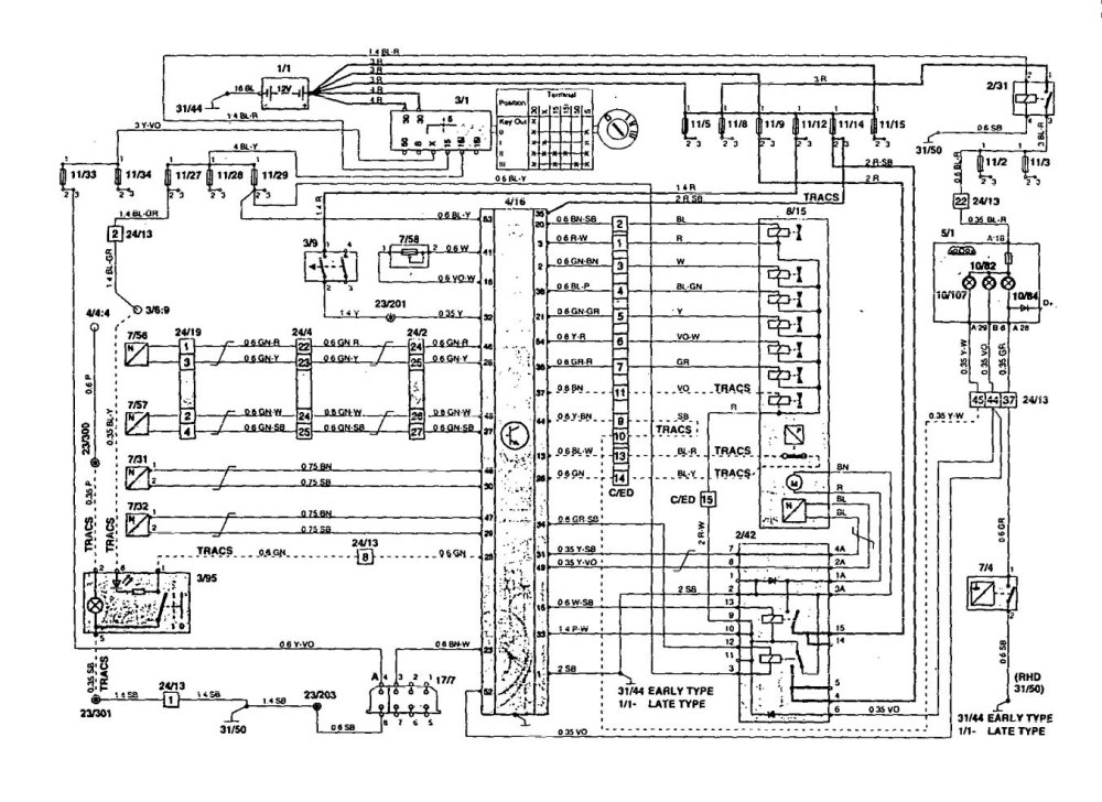 medium resolution of volvo 850 1995 wiring diagrams traction controls