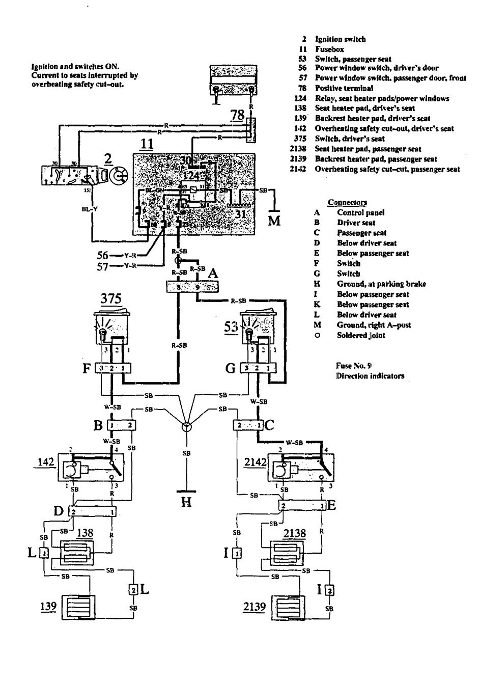 hight resolution of volvo 940 wiring diagram heated seats part 2 volvo
