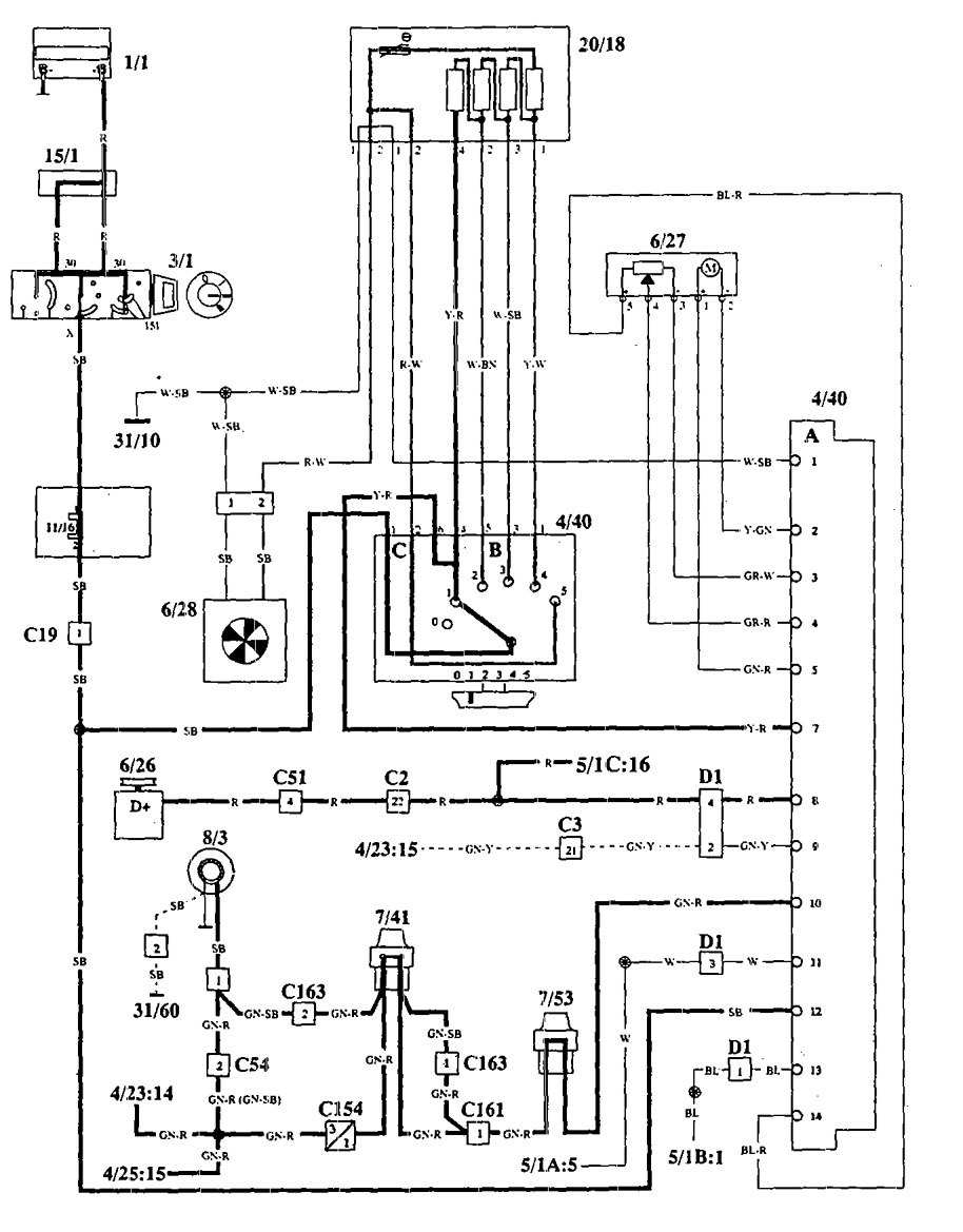 Excellent volvo 940 wiring diagram gallery electrical and wiring
