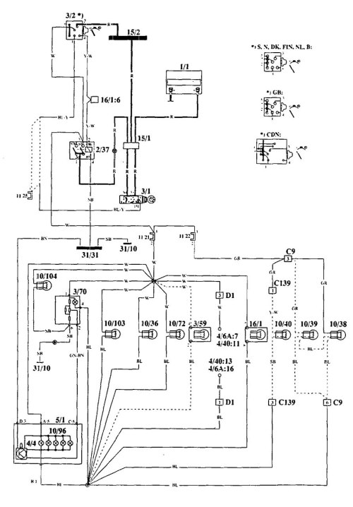 small resolution of volvo 240 fuse diagram easy wiring diagrams wiring volvo heavy duty trucks volvo engine relay diagram
