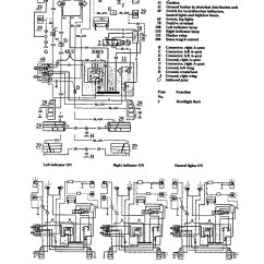 1991 Volvo 940 Stereo Wiring Diagram Phase Worksheet Answers Diagrams Turn Signal Lamp
