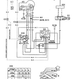 volvo 940 1994 wiring diagrams wiper washer carknowledge on volvo  [ 751 x 1193 Pixel ]