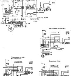 volvo 940 1994 wiring diagrams wiper washer [ 791 x 1199 Pixel ]