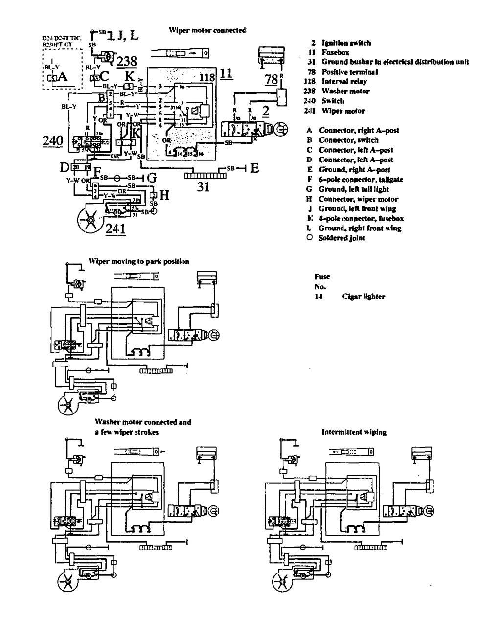 1991 volvo 940 stereo wiring diagram basic sentence diagramming worksheet diagrams wiper washer