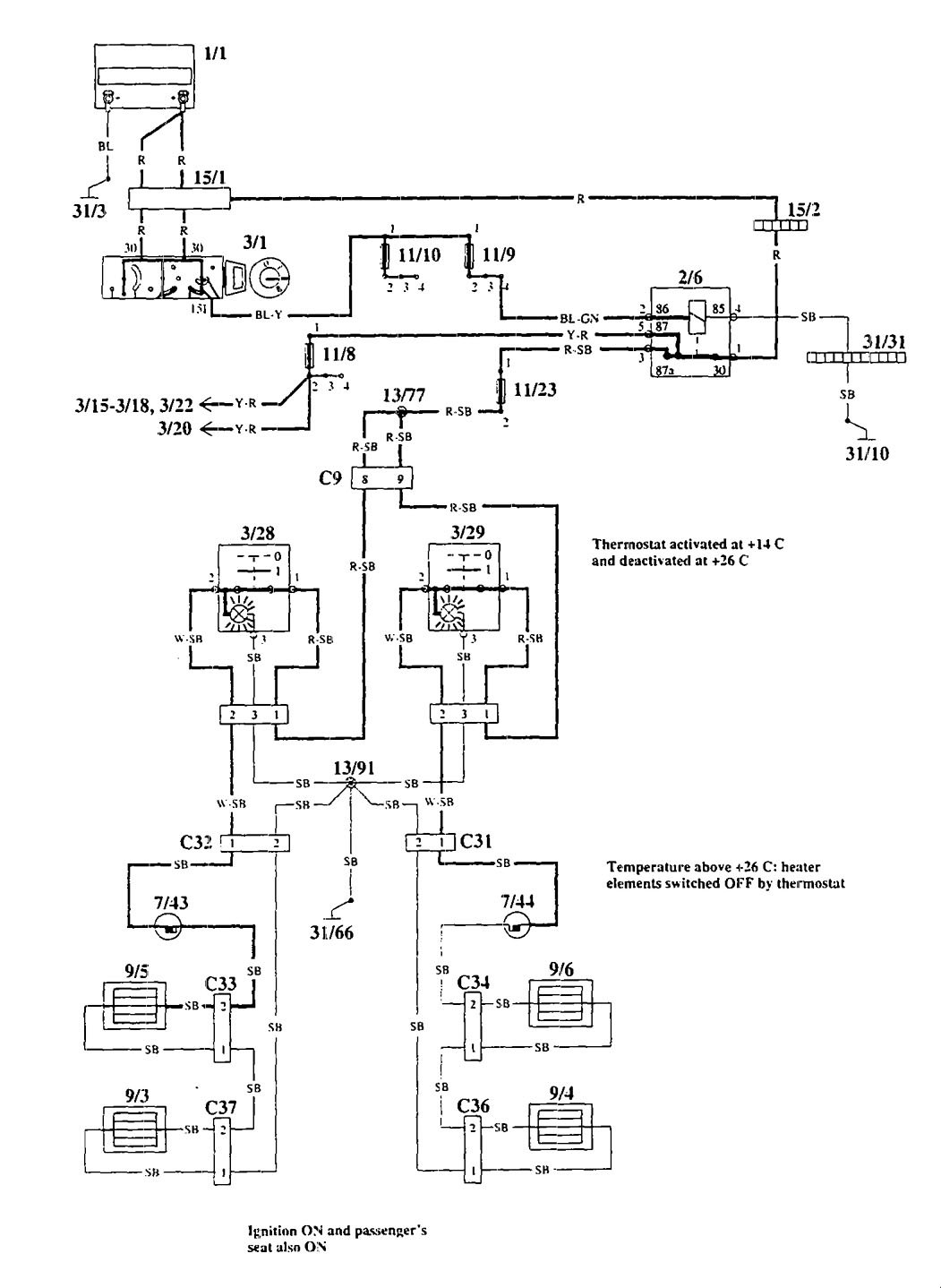 hight resolution of 93 volvo 940 wiring diagram free picture