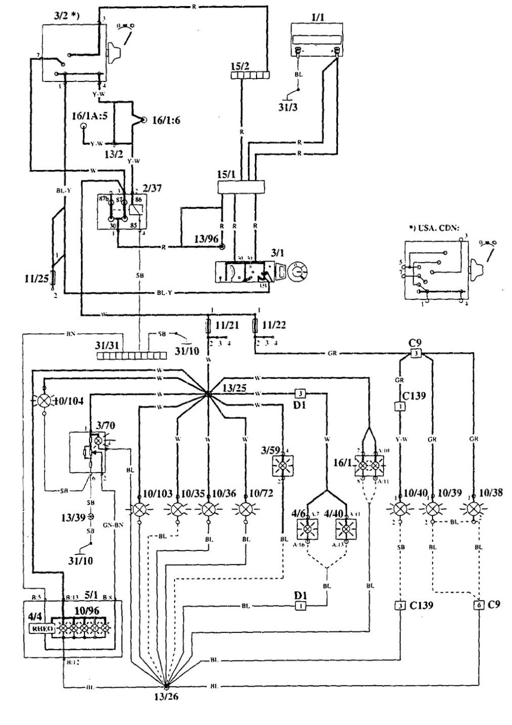 medium resolution of volvo 940 radio wiring diagram electrical diagram schematics 1993 960 wiring diagram 1995 volvo 940