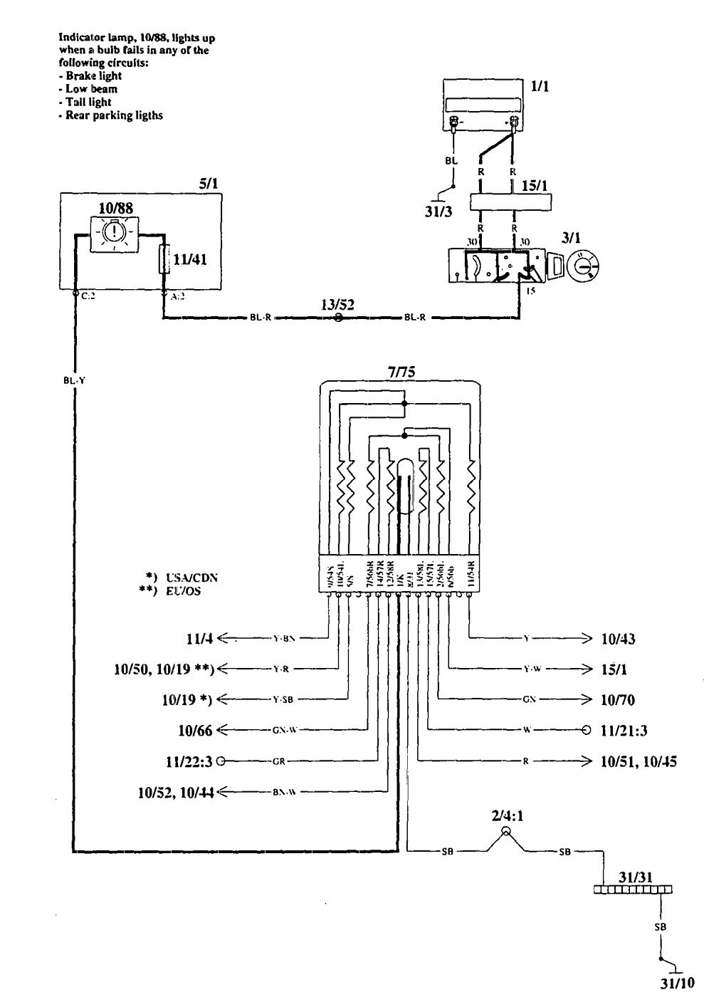 1995 Volvo 940 Wiring Diagram Auto Electrical 960 Related With