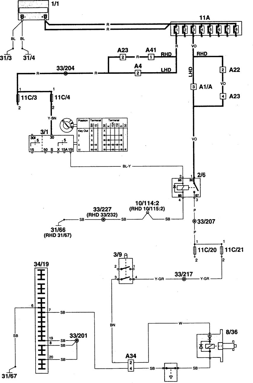 hes 5000 wiring diagram headlight dimmer switch interlocking | library