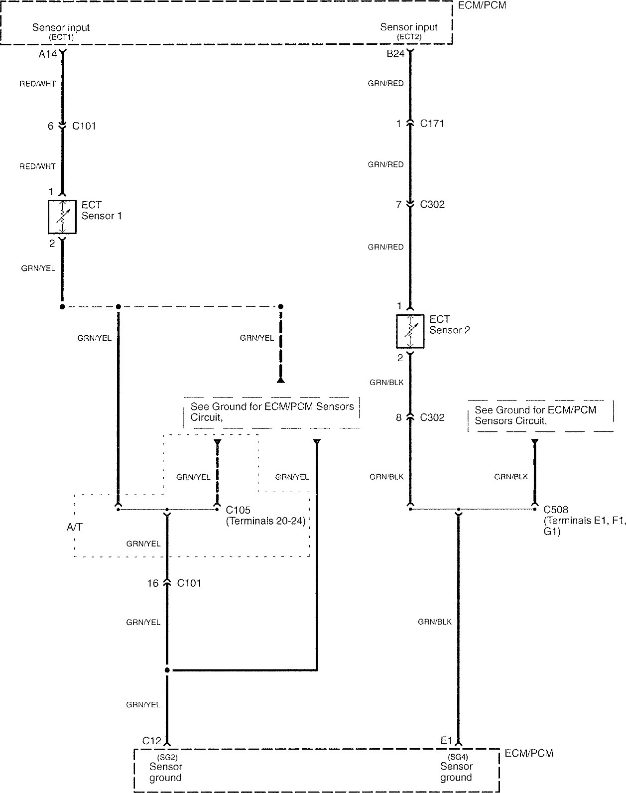 hight resolution of  acura tl wiring diagram cooling fans part 3
