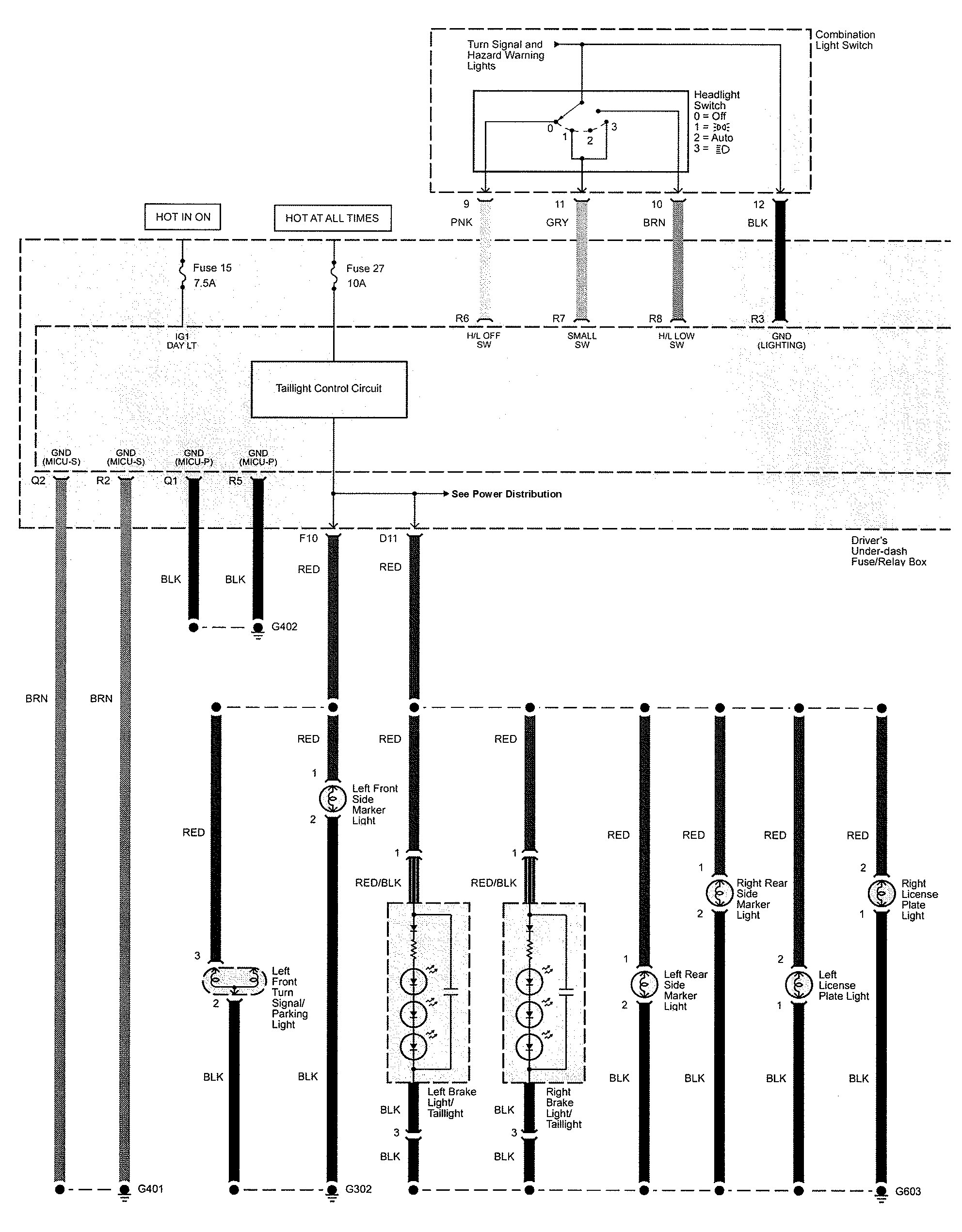 wiring diagrams house lights fender blacktop telecaster diagram acura tl 2009 exterior lighting