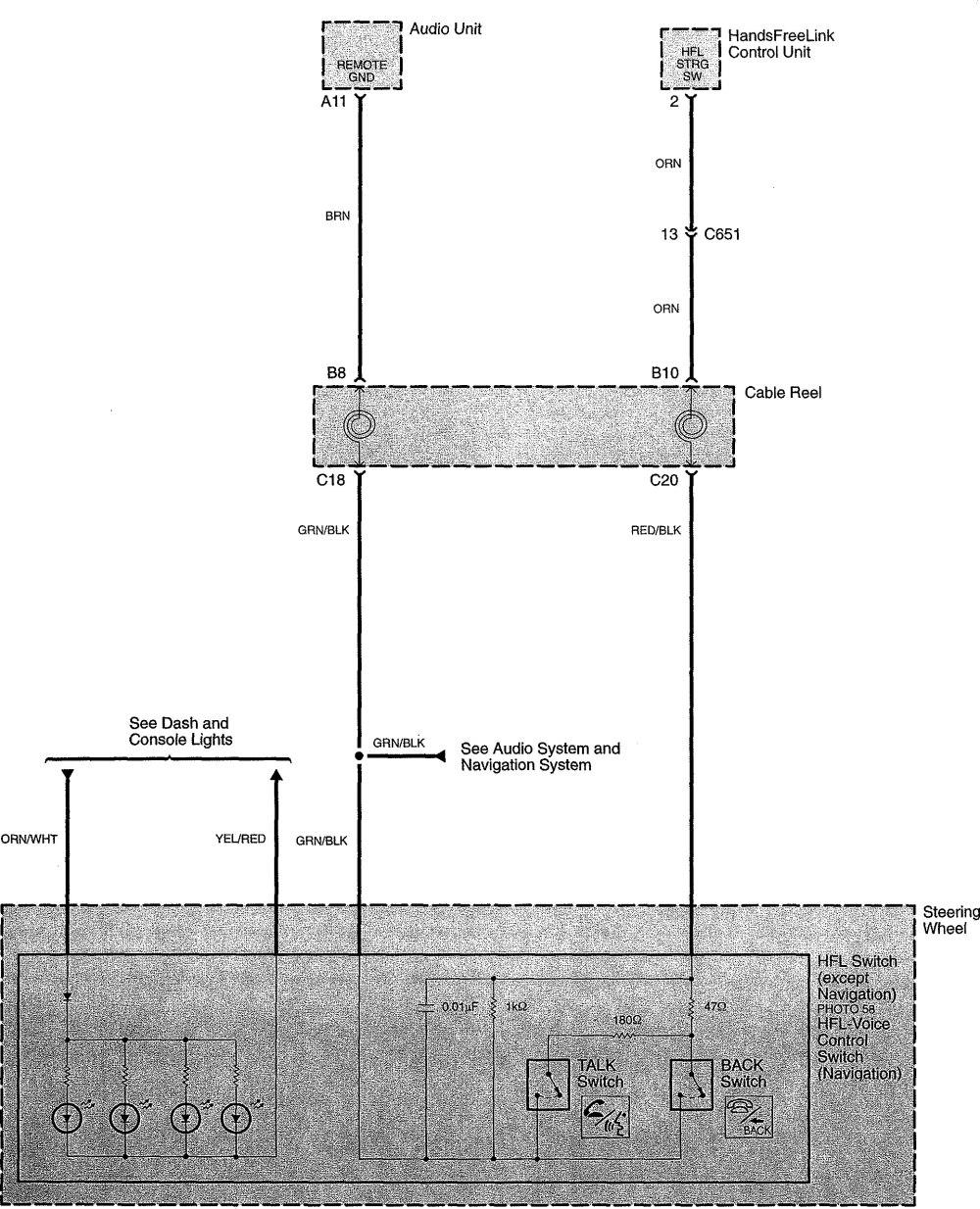 medium resolution of  acura tl wiring diagram hands free link system part 5
