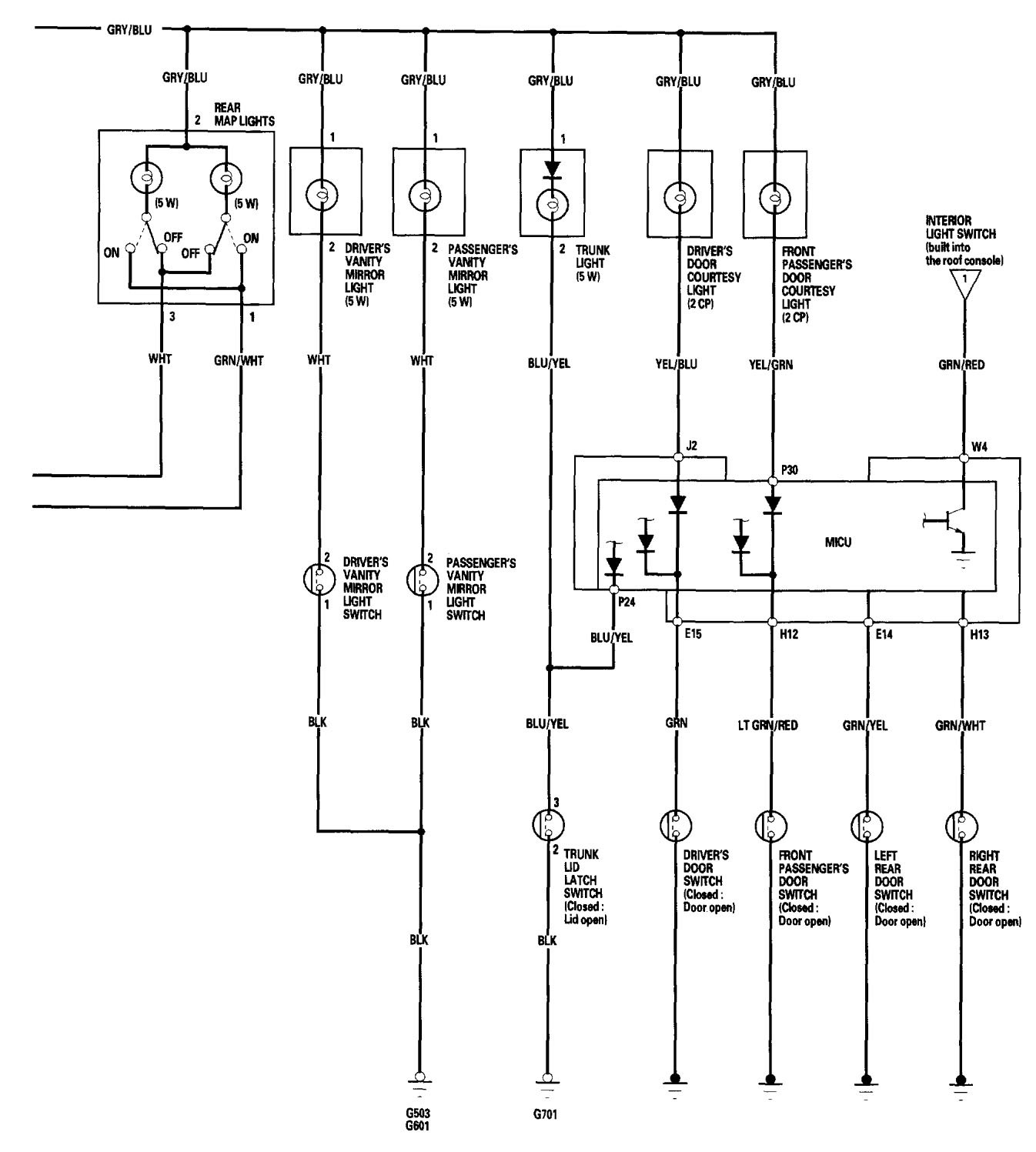 Acura TL (2006) – wiring diagrams