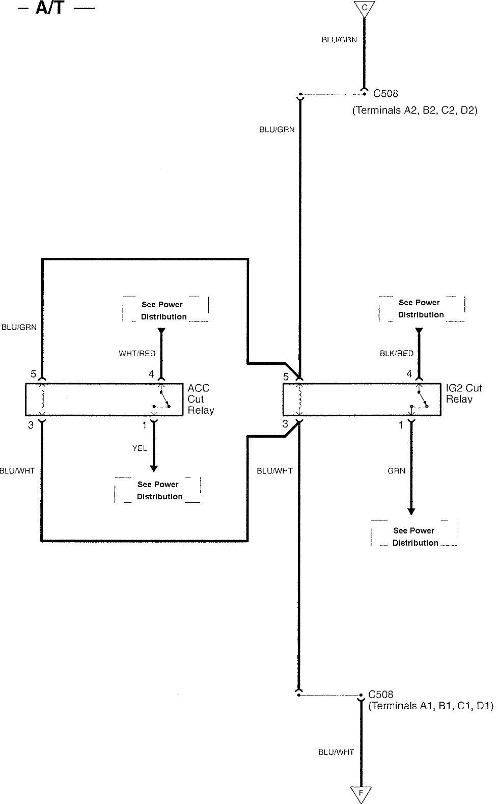 [WRG-1757] 2007 Acura Tl Wiring Diagram