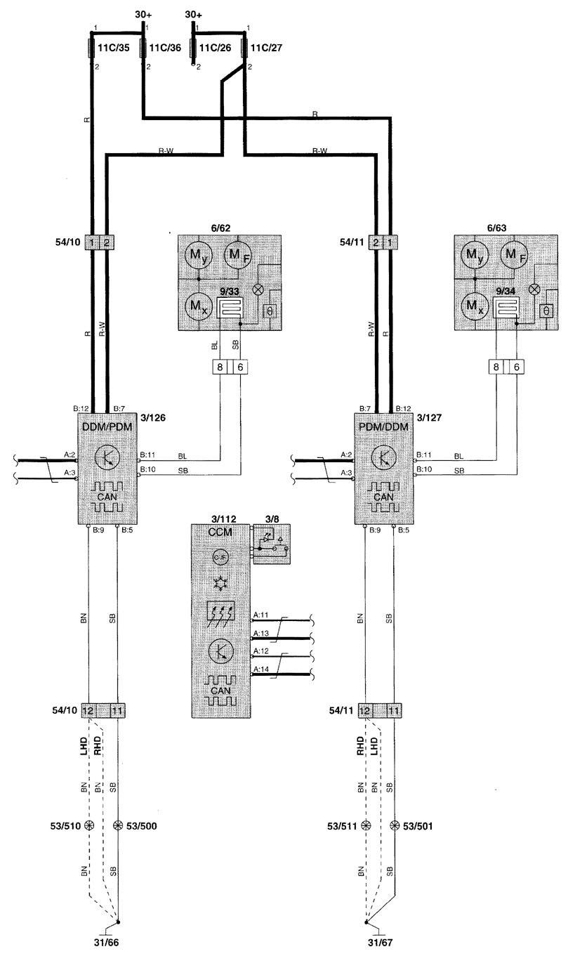 medium resolution of volvo 850 power window wiring diagram chrysler crossfire wiring 1998 volvo v70 engine diagram volvo v70