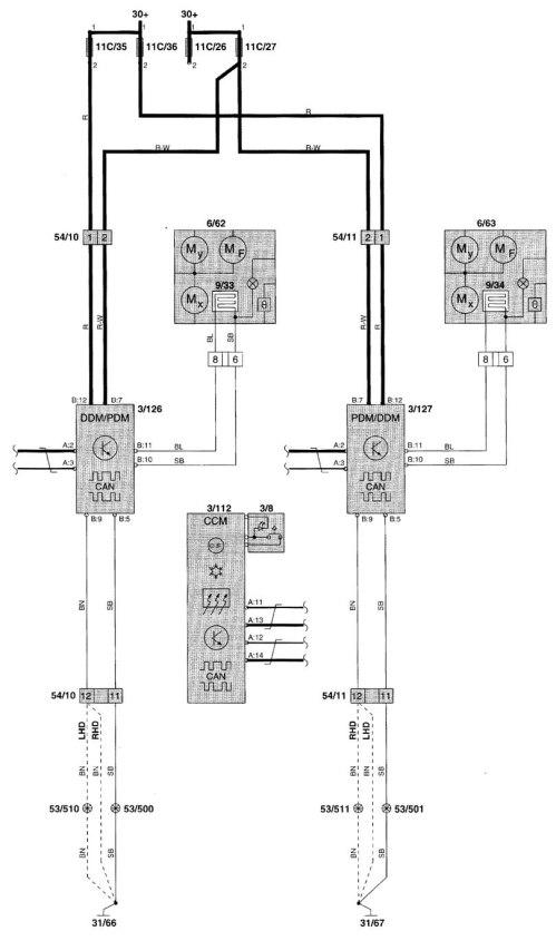 small resolution of volvo 850 power window wiring diagram chrysler crossfire wiring 1998 volvo v70 engine diagram volvo v70