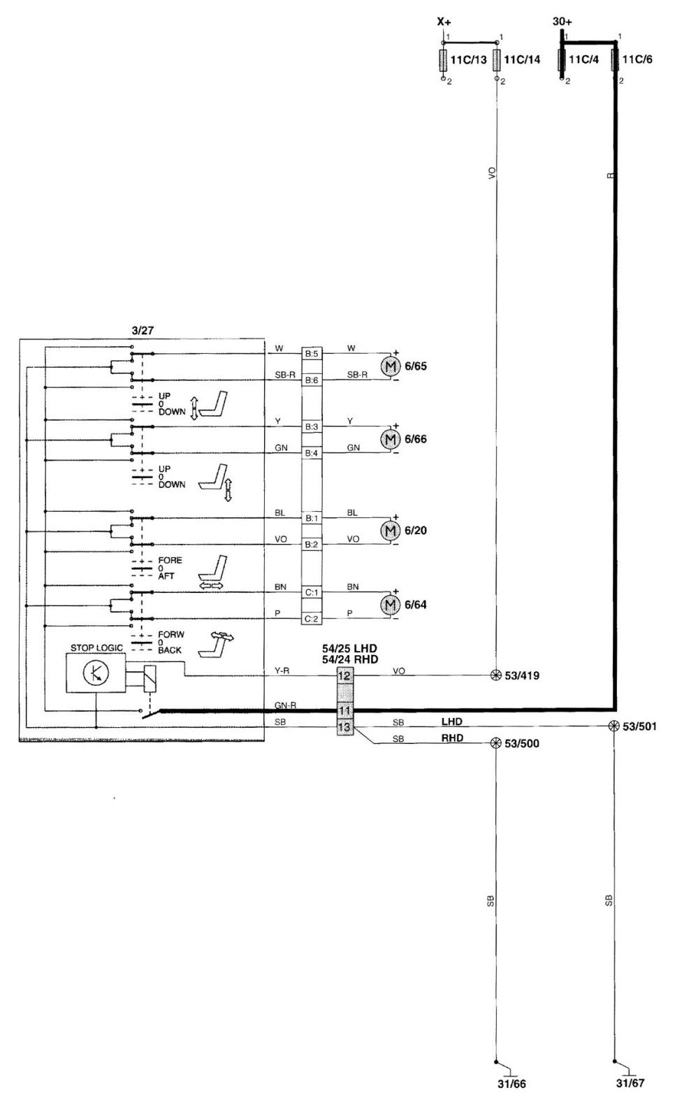 medium resolution of volvo s60 window wiring diagram wiring diagram list volvo s70 power window wiring diagram