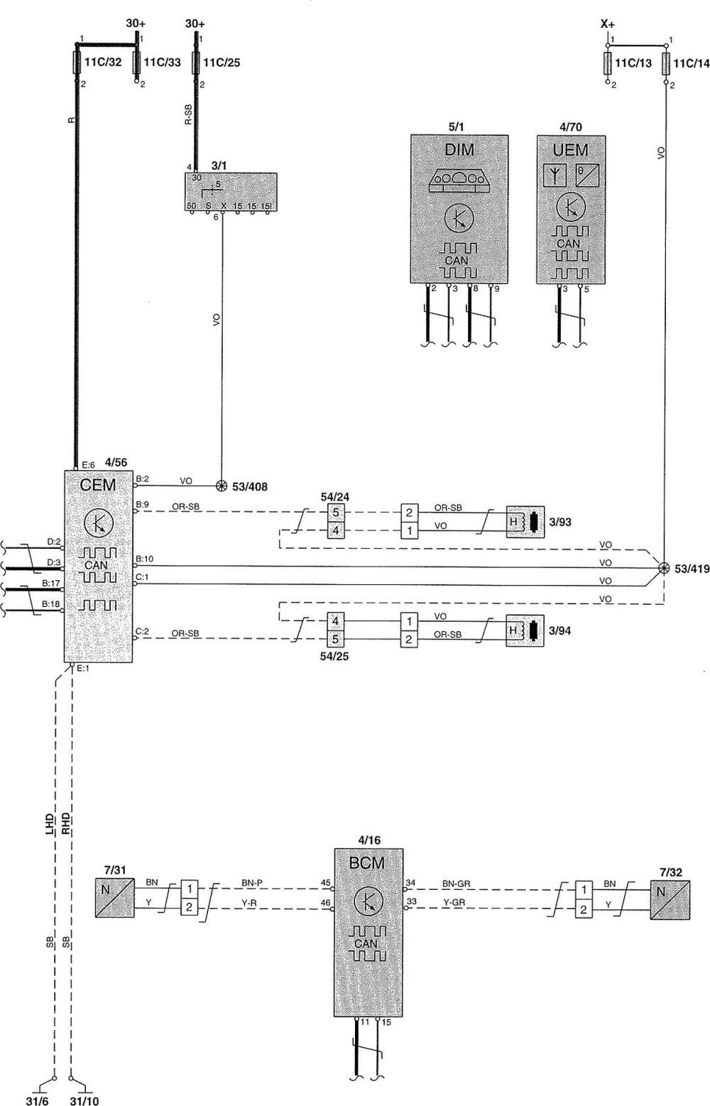 medium resolution of 2002 volvo s60 wire diagram