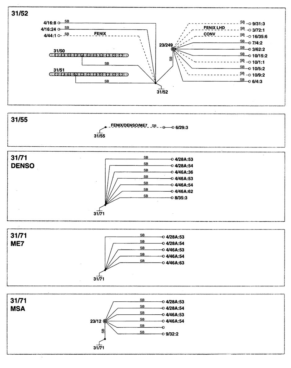 hight resolution of volvo c70 wiring diagram ground distribution part 7 volvo