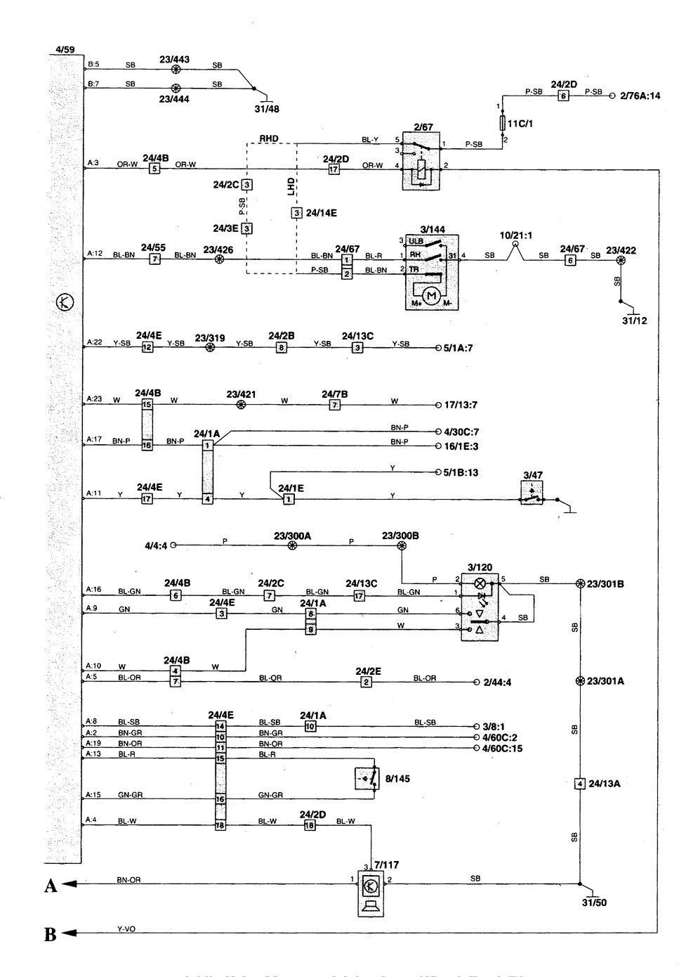 hight resolution of volvo s70 wiring diagram wiring diagram rh aiandco co 1998