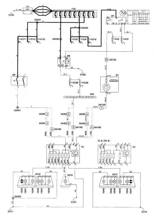 small resolution of 2000 volvo s70 wiring diagram trusted wiring diagram volvo s40 fuse box 1999 volvo s80 fuse