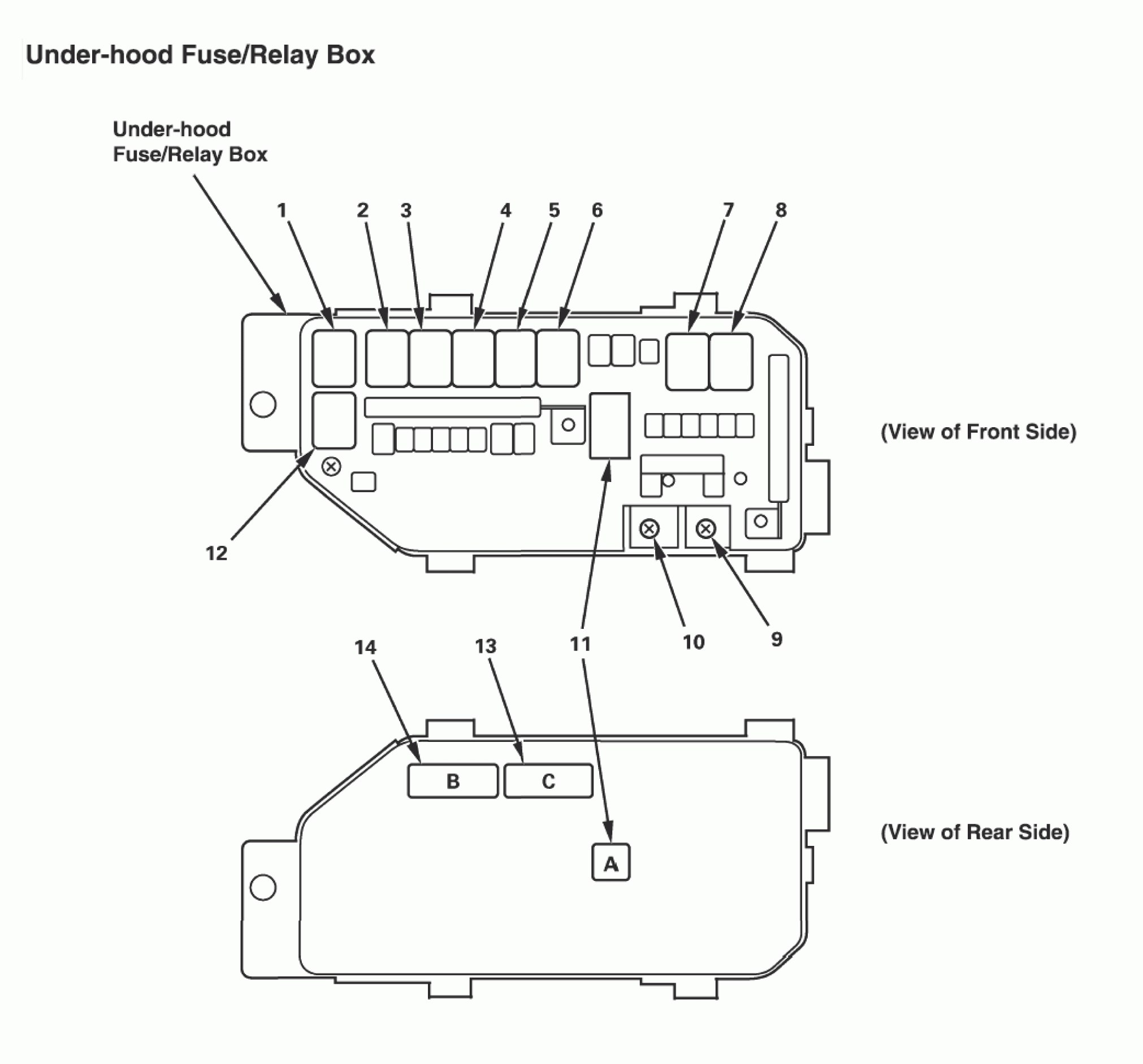Acura Tl Wiring Diagram Fuse Box Under Hood on 06 pt cruiser fuel filter