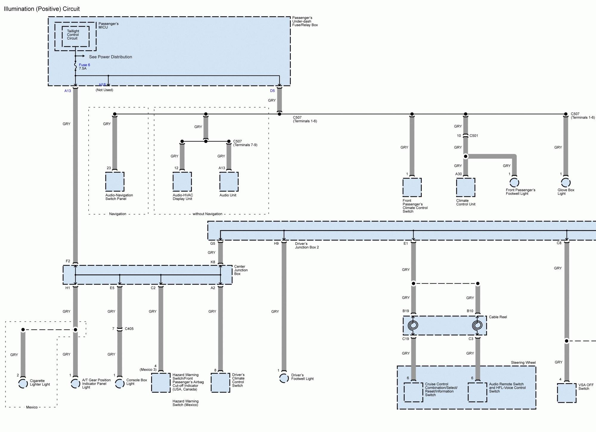 hight resolution of acura tl wiring diagram splice illumination positive circuit part 1
