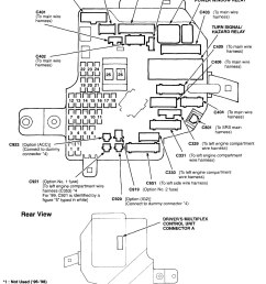 acura rl 2000 2004 wiring diagrams fuse panel carknowledge rh carknowledge info [ 1386 x 1817 Pixel ]