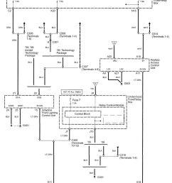 acura rl wiring diagram body control part 5  [ 1381 x 1699 Pixel ]