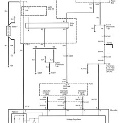 Car Charging System Wiring Diagram Pioneer Deh P6000ub Acura Rl 2006 Diagrams