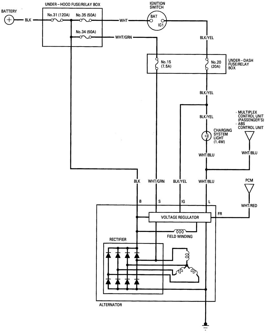 Related with 2001 acura rl wiring diagrams
