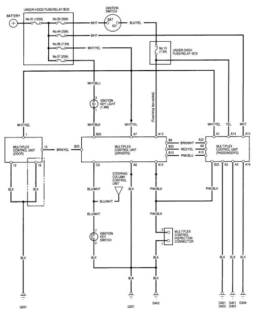 small resolution of acura rl wiring diagram computer data lines part 1