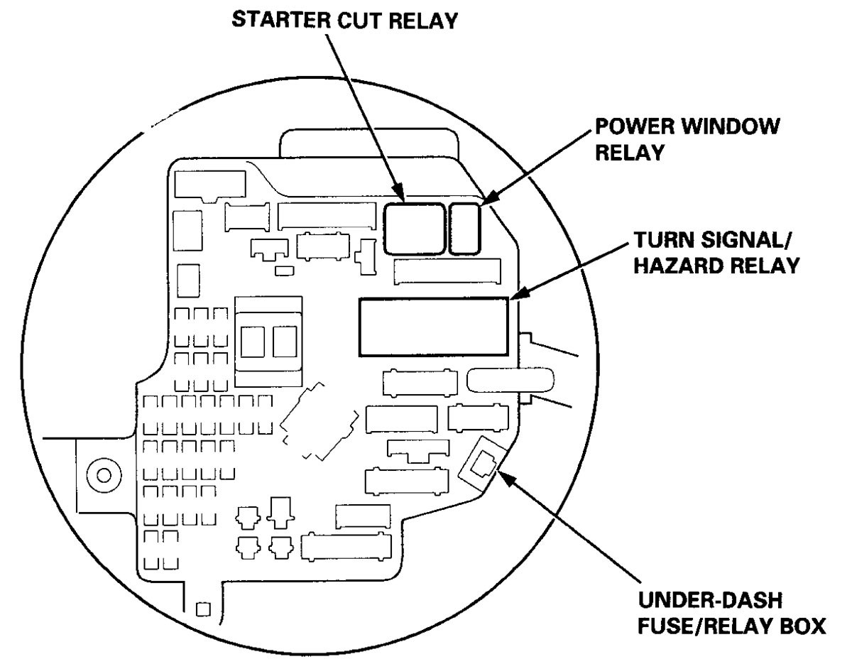 2006 acura tl fuse box diagram