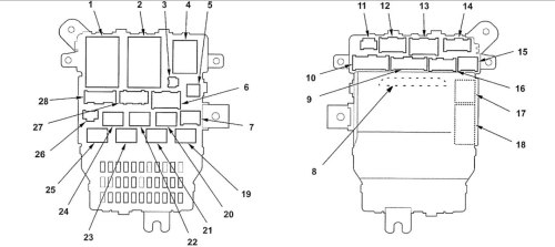 small resolution of acura rl 2005 2006 wiring diagrams fuse panel carknowledge rh carknowledge info 2002 acura tl fuse