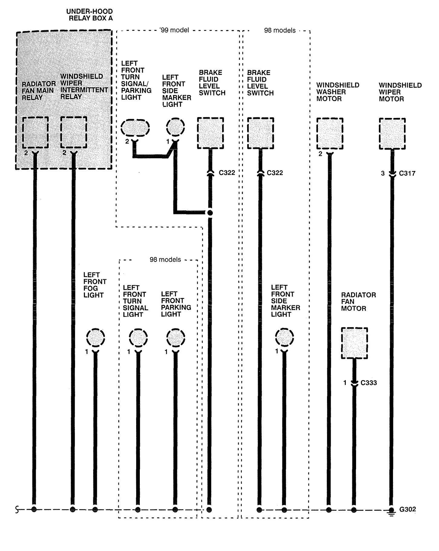 1998 dodge caravan radio wiring diagram 1 gang one way switch homelink 37