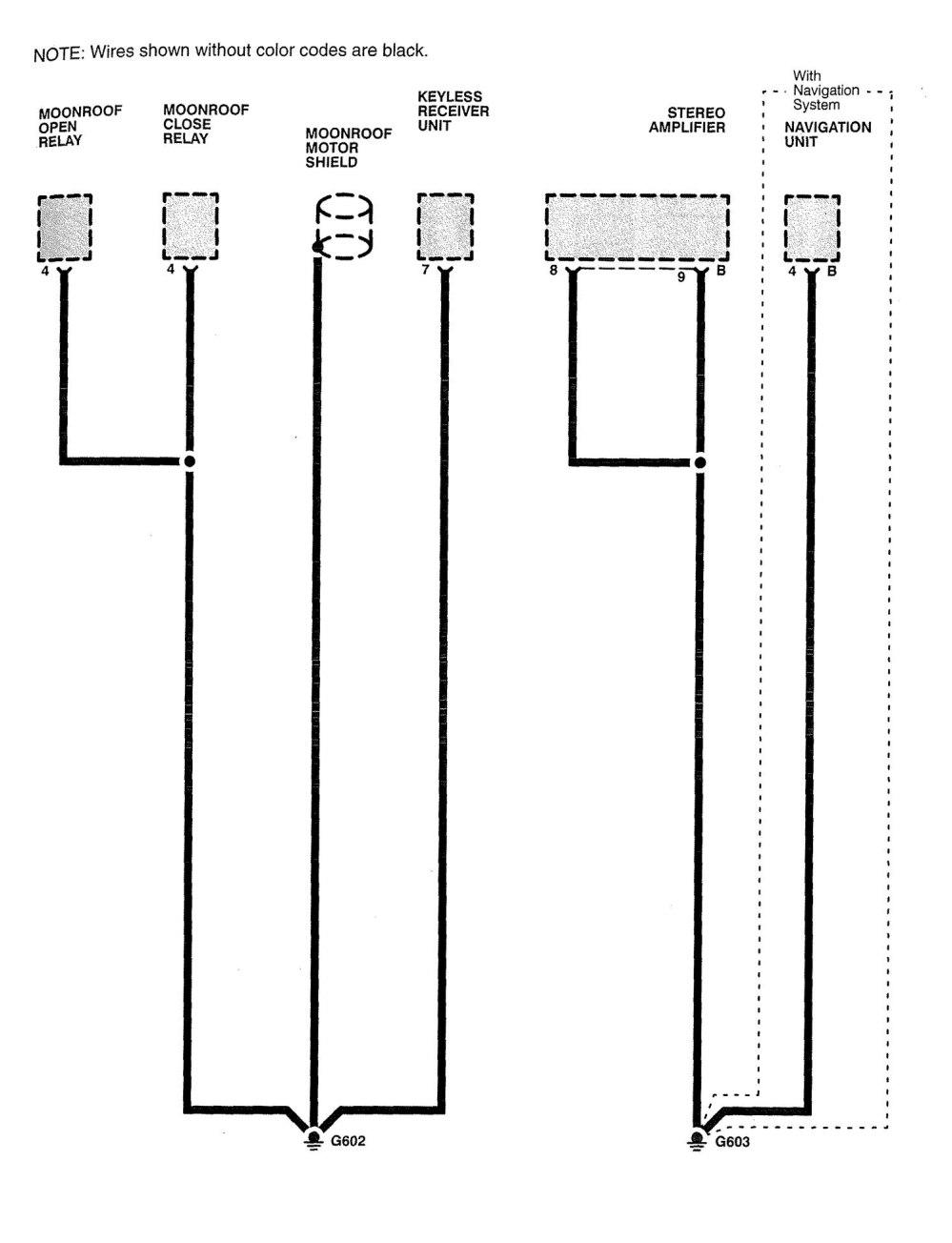 medium resolution of acura rl wiring diagram ground distribution part 9
