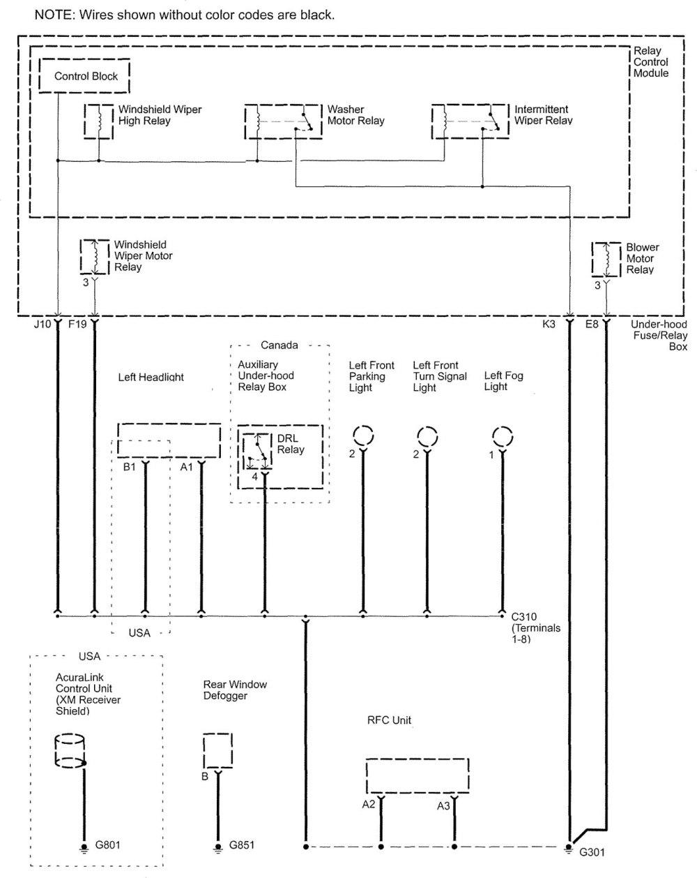 medium resolution of 1998 acura rl electrical wiring diagram 1998 acura rl fuse box diagram wiring diagram elsalvadorla 2002
