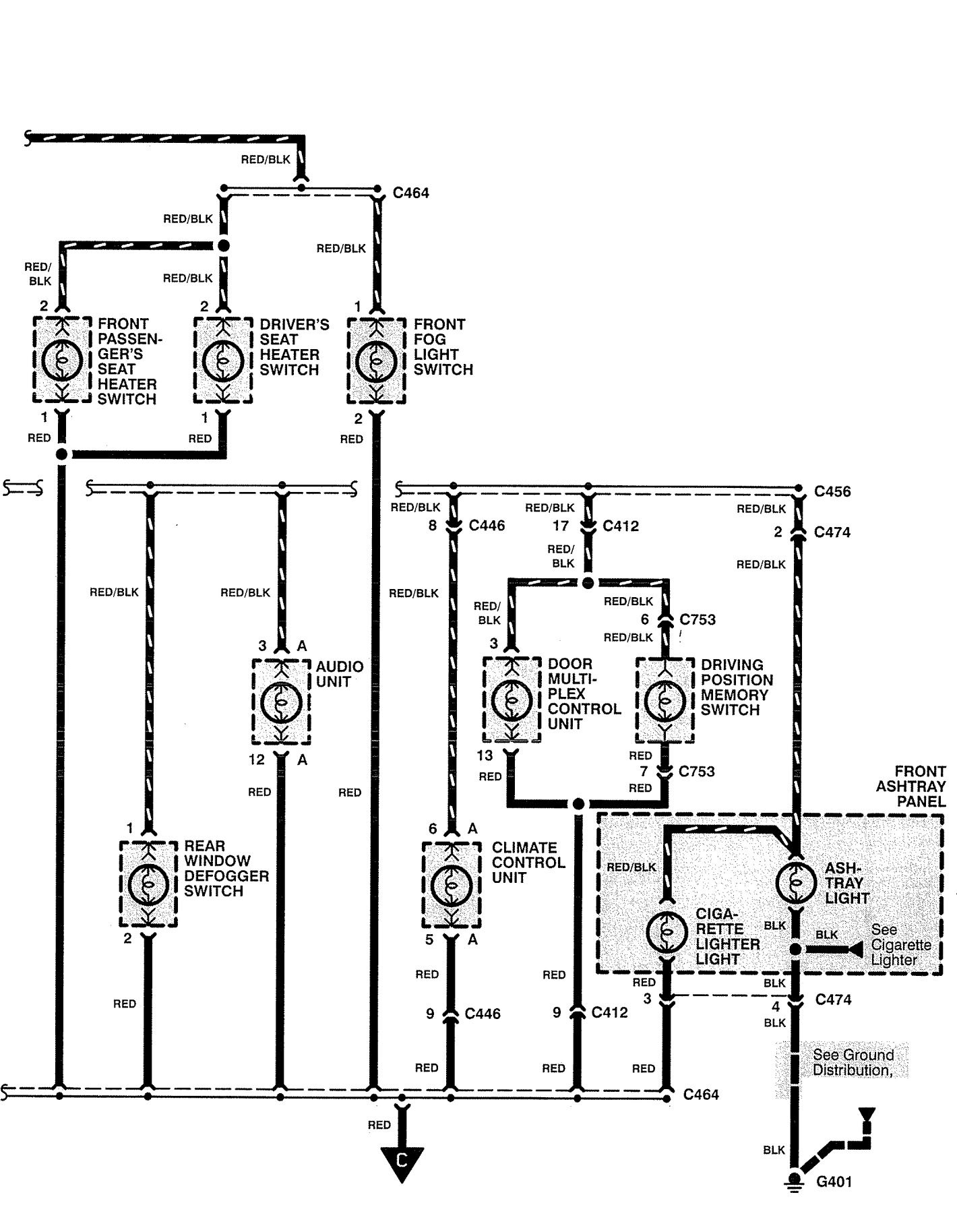 1995 Acura Integra Stereo Wiring Diagram 1995 Lincoln Town