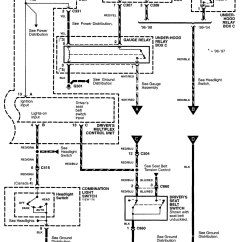 Lamp Wiring Diagram Poe Cable Acura Rl 2003 2004 Diagrams Out