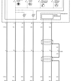 mic wire diagram onstar gmc [ 1315 x 1661 Pixel ]