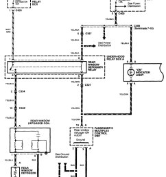 2003 subaru rear defrost wiring harness diagram [ 1424 x 1822 Pixel ]