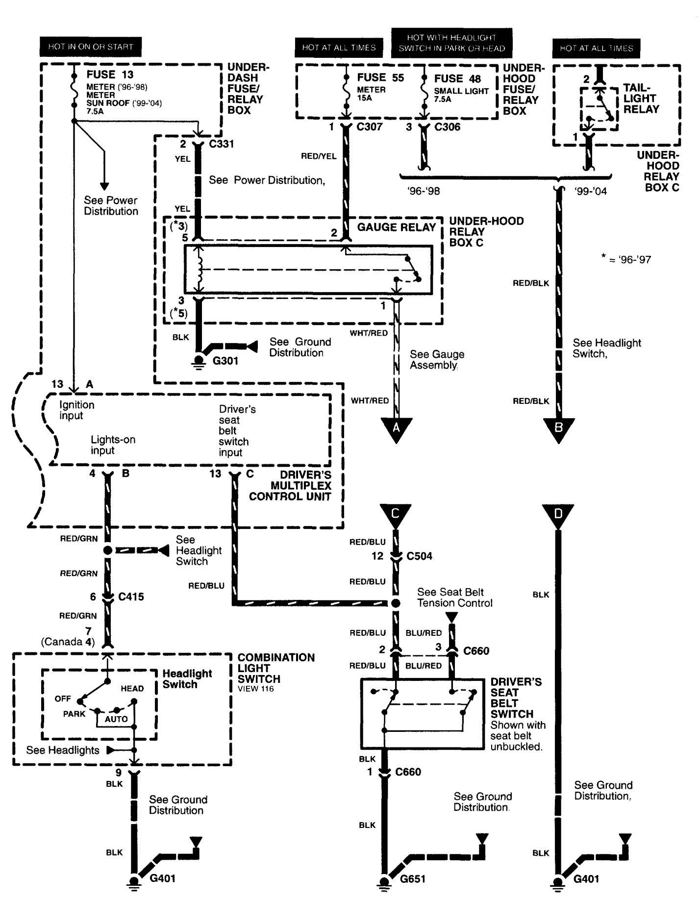 seat belt warning relaycar wiring diagram