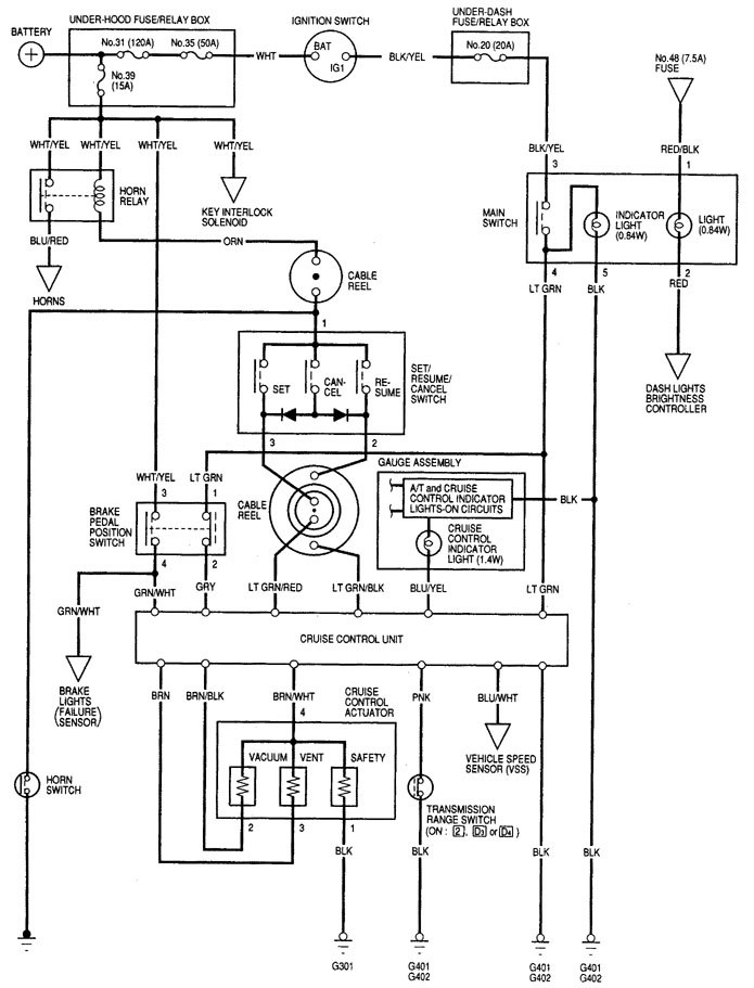 2000 Acura Rl Wiring Diagram Schematic | mwb-online.co on